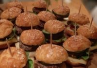 Mini burgeri od sirnih krekera