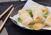 proljetne rolice s fileom ribe fish spring rolls riba limanda