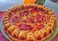 rub pizze punjen kobasicama recept