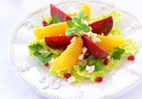beet and orange salad salata od cikle i naranče