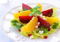 beet and orange salad salata od cikle i naranče