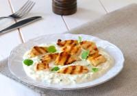 grill piletina s brzim umakom od tikvica i vrhnja za kuhanje