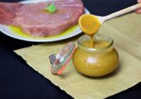 bbq mustard sauce roštilj umak od senfa recept