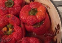 paprike punjene kuskusom i mljevenim mesom
