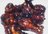 crni ljepljivi umak za piletinu recept