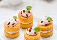mini torte od mrkve s kremom od krem sira