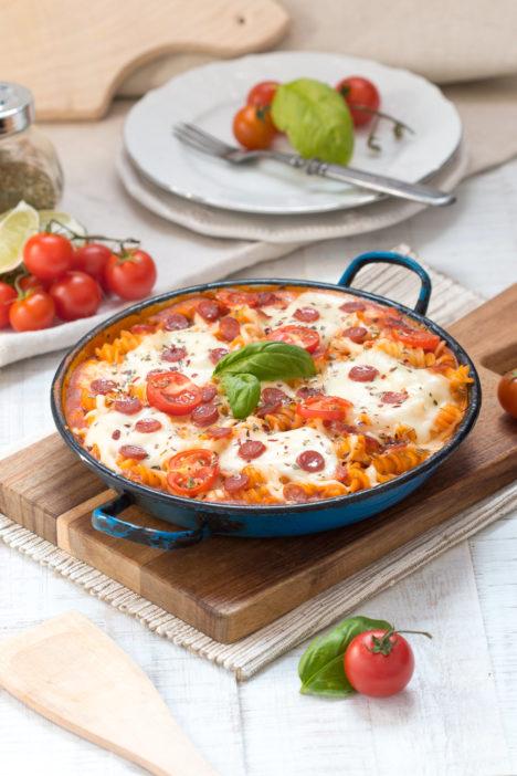 tjestenina s okusom pizze