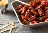 Wudy party hrenovke kobasice u azijskom ljepljivom umaku sa sezamom recept