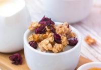 recept za domaću granolu s maslacem od kikirikija