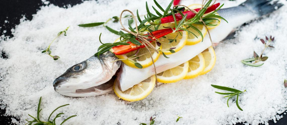 Brancin pečen u soli Darkova Wev kuharica Cromaris recept-3912