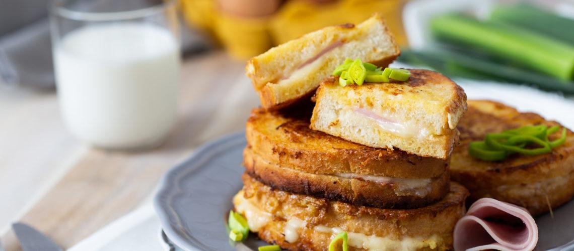 pohani kruh punjen šunkom i sirom