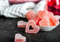 Žele bomboni u obliku srca Darkova Web Kuharica Recept za Valentinovo Desert