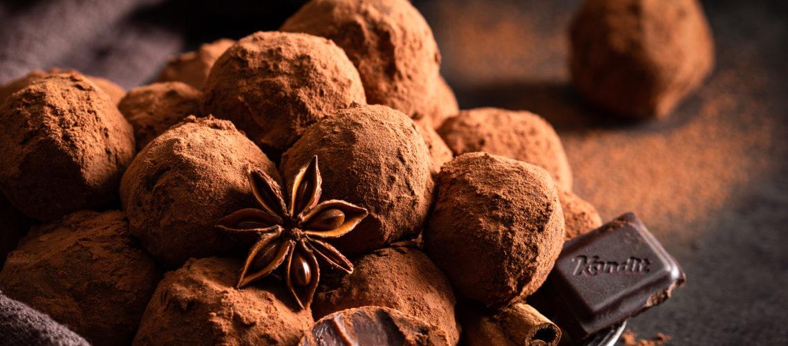 Čokoladni tartufi recept s Kandit tamnom čokoladom s uljem naranče