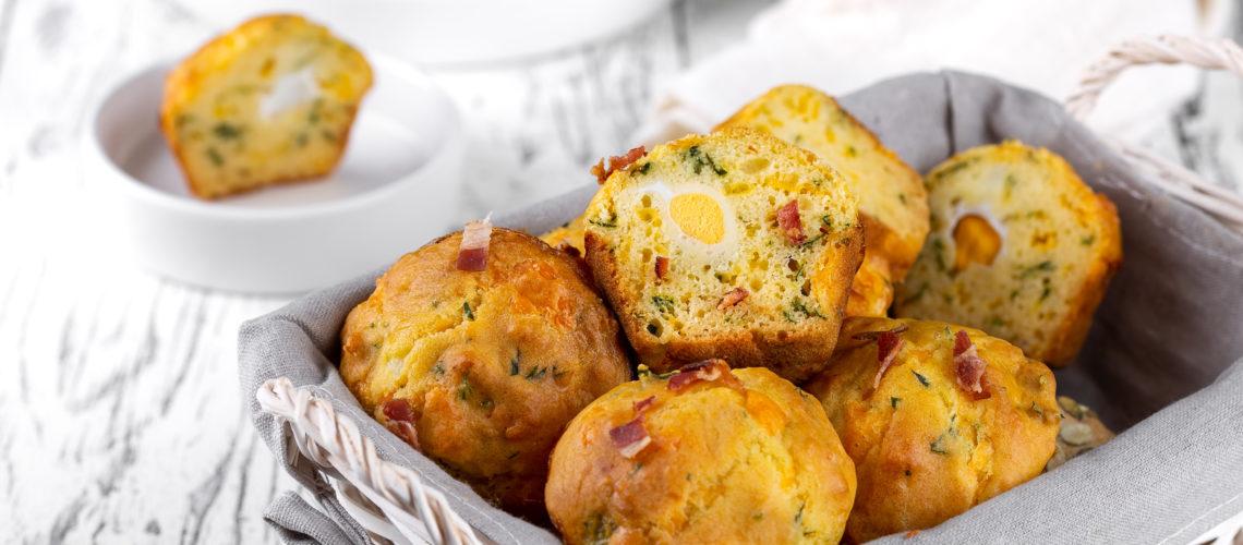 Recept za slane muffine punjene prepeličjim jajetom