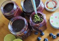 džem od borovnica i limete recept