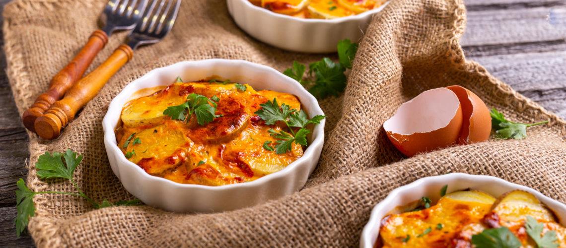 Francuski krumpir s jajima i ajvarom