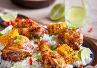 Nando's PERi-PERi piletina s rižom