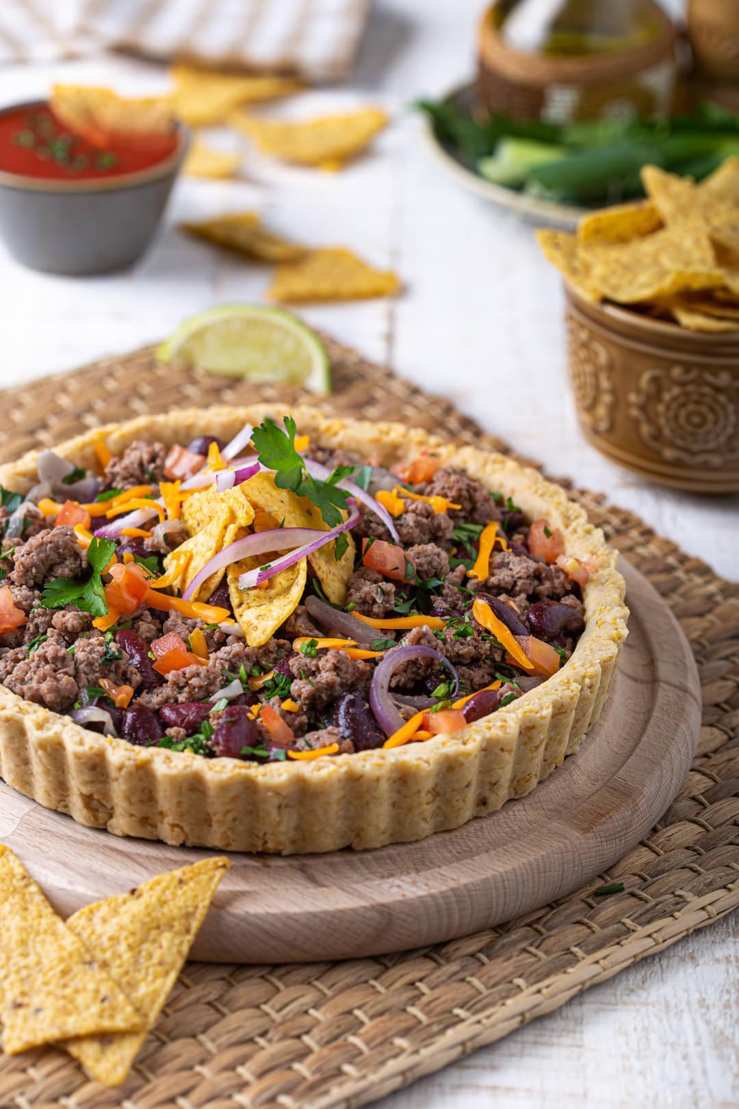 Chili con carne pita od tortilja čipsa recept Darkova Web Kuharica