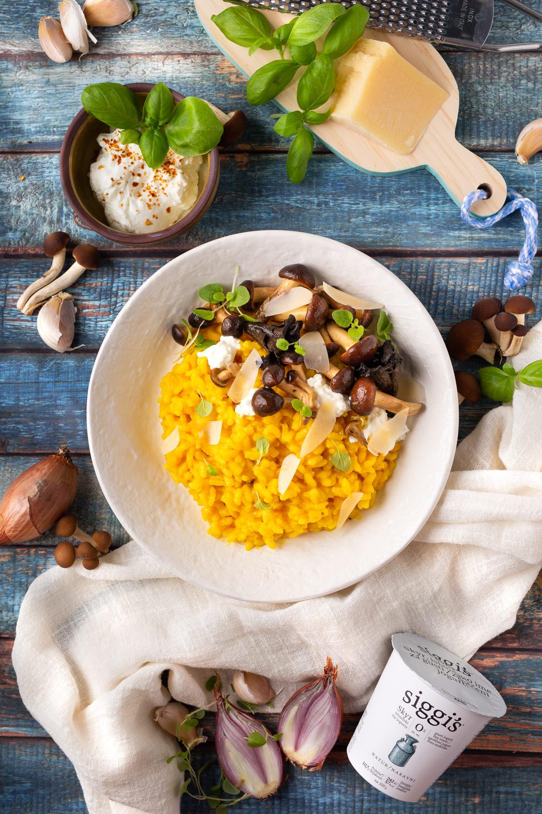 recept za rižoto od bundeve