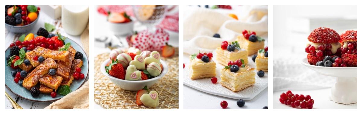 Deserti za valentinovo