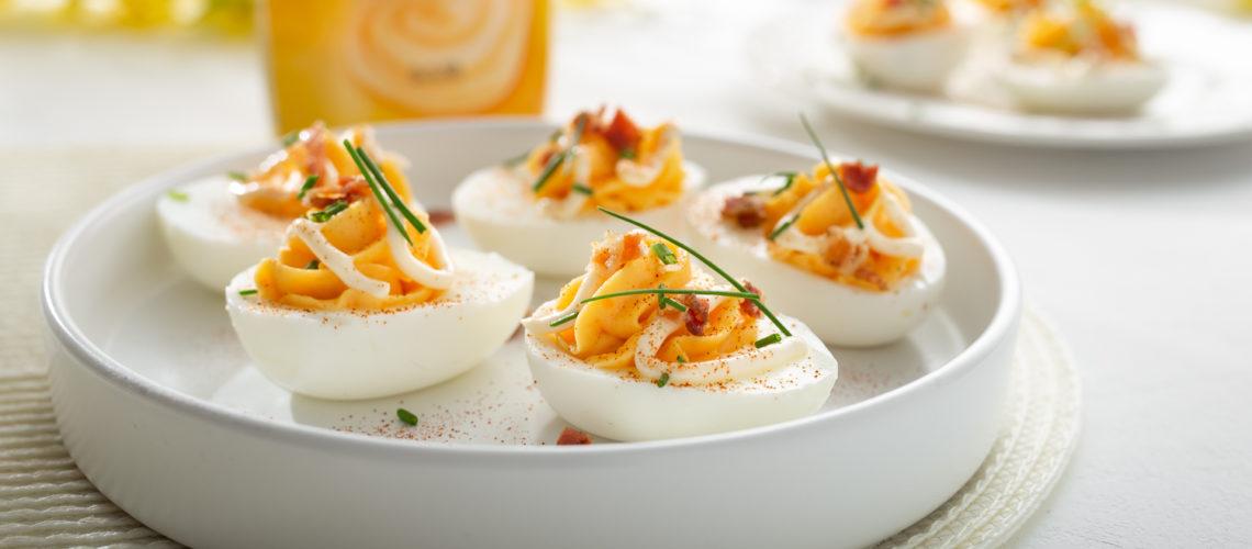 vražja jaja deviled eggs darkova web kuharica