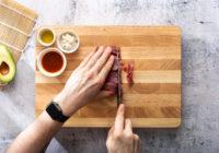 Uramaki sushi s pikantnom tunom i avokadom Zvijezda majoneza recept