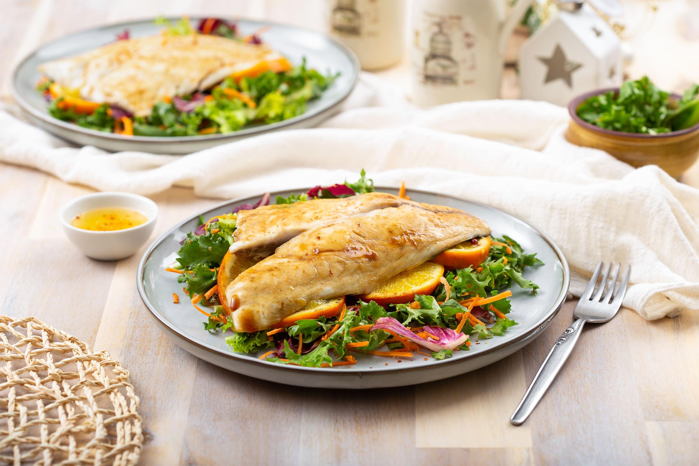 Cromaris riba na salatu Darko Kontin recept