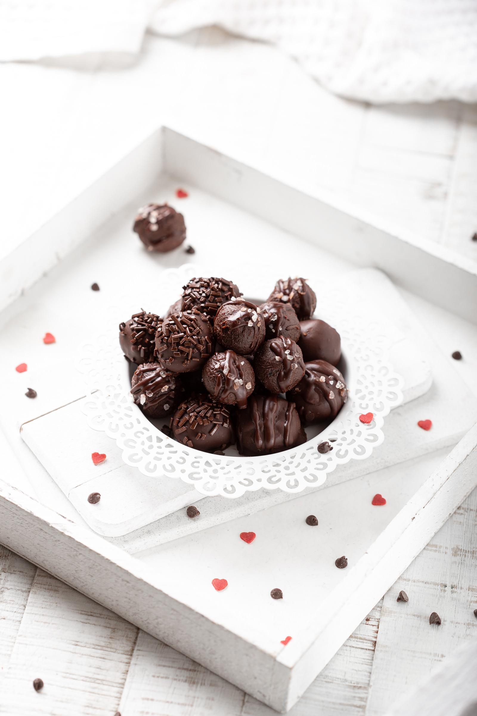 Čokoladni tartufi sa sušenim brusnicama i himalajskom soli Metro desert Darko Kontin recept